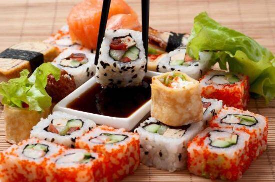 Sushi A Best Seller Japanese Food In Catering Services